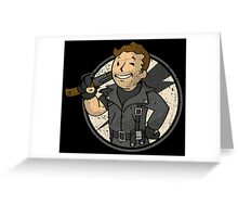 Warrior of the Road (sticker) Greeting Card