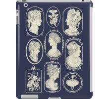 Cameos - blue iPad Case/Skin