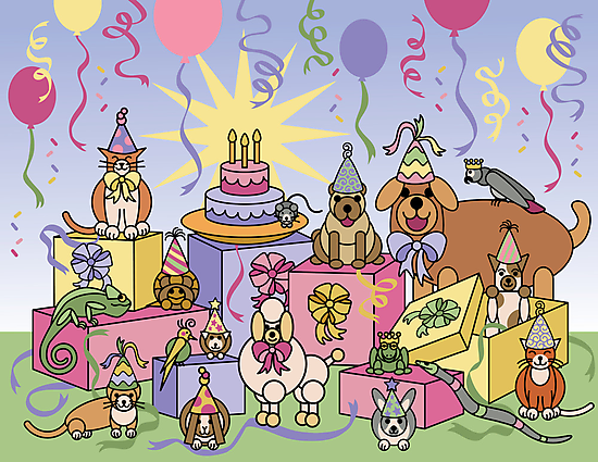 Party Animals by Lisann