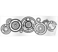Doctor Who - The Doctor's name in Gallifreyan #1 Poster