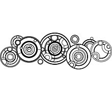 Doctor Who - The Doctor's name in Gallifreyan #1 Photographic Print