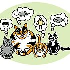 What Cats Think About by Lisann