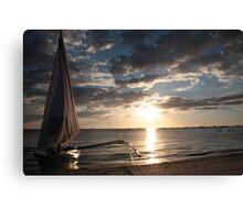 Sail home Canvas Print