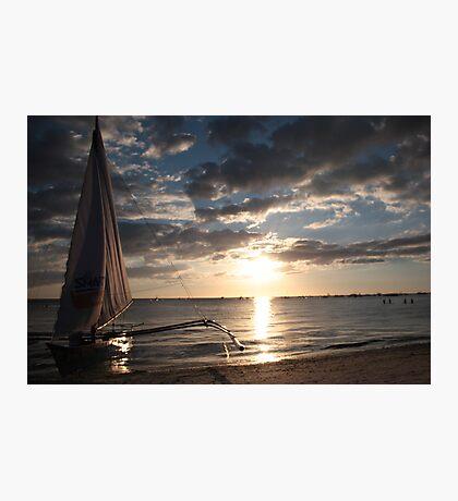 Sail home Photographic Print