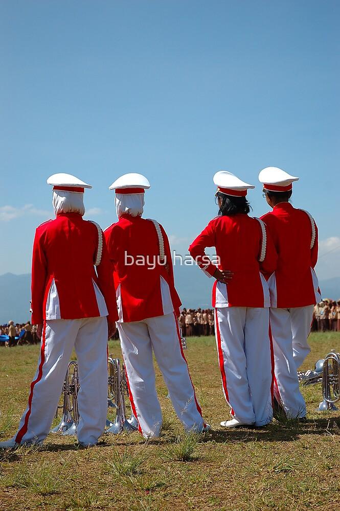 marching band members by bayu harsa