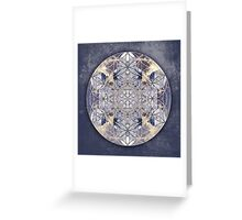 Flower of Enlightenment Greeting Card
