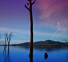 Lake Hume 12 by John Vandeven