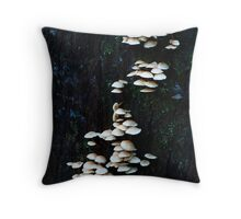 Layer Upon Layer- Fungi Throw Pillow