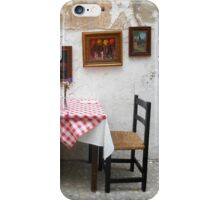 Table For Two iPhone Case/Skin