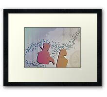 In the New World Framed Print