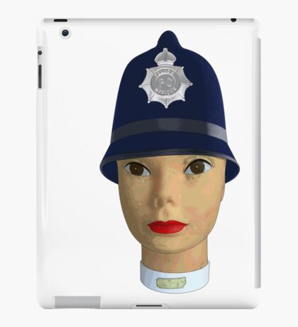 head of the police iPad Case/Skin