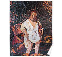 Woman Bathing - (Interpretation) Poster