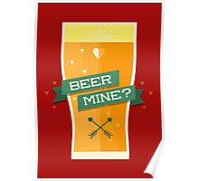 Will You Beer Mine? Poster