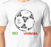 A Casual Classic iconic No Alla Violenza inspired t-shirt design T-Shirt  Unisex T-Shirt