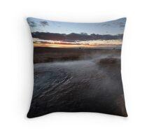 sunrise @mirra mitta bore Throw Pillow