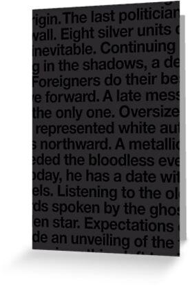bitter blackness by Steve Leadbeater