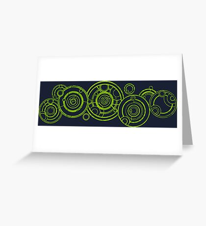 Doctor Who - The Doctor's name in Gallifreyan #3 Greeting Card