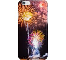 The Beautiful Orange Candles in July iPhone Case/Skin