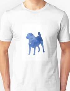 Blue puggle watercolor painting T-Shirt
