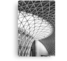 Kings Cross Station Ceiling Canvas Print