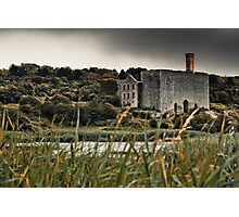 Derelict Lime Works, Aberthaw. Wales. Uk. Photographic Print
