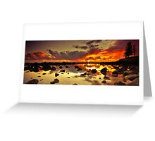 Burleigh Heads Rock Pool Greeting Card