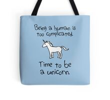 Time To Be A Unicorn Tote Bag