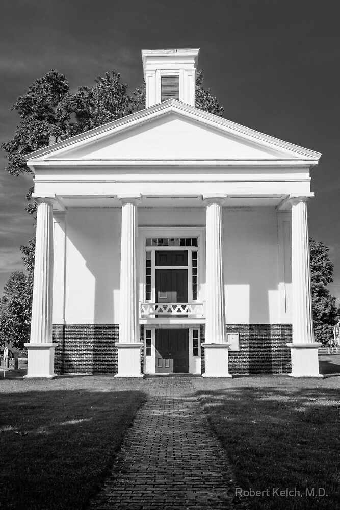 The Oldest  Courthouse in Michigan by Robert Kelch, M.D.