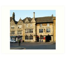 The Kings Arms, Stow-on-the-Wold, Gloucestershire Art Print