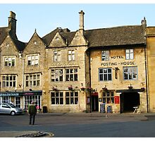 The Kings Arms, Stow-on-the-Wold, Gloucestershire Photographic Print