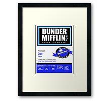 Dunder Mifflin Paper Company - Ream Packaging Framed Print