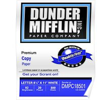 Dunder Mifflin Paper Company - Ream Packaging Poster