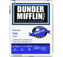Dunder Mifflin Paper Company - Ream Packaging iPad Case/Skin