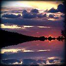 Rorschach Sunset by James McKenzie