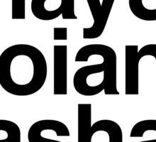 Lucy & Shay & Troian & Sasha & Ashley Sticker