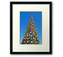 Giant Christmas Tree in Palawan, Philippines Framed Print