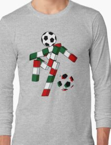 A Casual Classic iconic Italia 90 inspired t-shirt design  Long Sleeve T-Shirt