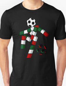 A Casual Classic iconic Italia 90 inspired t-shirt design  T-Shirt
