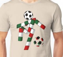 A Casual Classic iconic Italia 90 inspired t-shirt design  Unisex T-Shirt