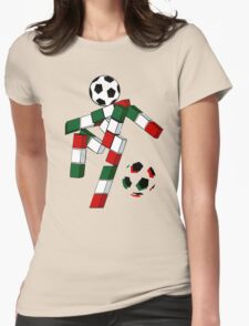 A Casual Classic iconic Italia 90 inspired t-shirt design  Womens Fitted T-Shirt