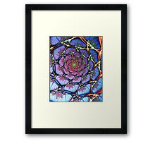 Neural Framed Print