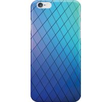 Blue gradient patter iPhone Case/Skin