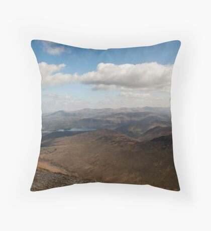 Lakeland Panorama Throw Pillow