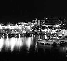 A Lit Up Geelong Waterfront by Peter Redmond