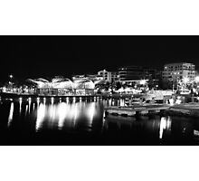 A Lit Up Geelong Waterfront Photographic Print