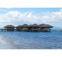 Dos Palmas Resort Cottages in Palawan, Philippines Photographic Print