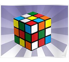 Puzzle Cube Poster
