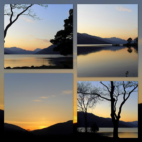 """Loch Lomond Sunset featured in """"Light of Love"""" by ©The Creative  Minds"""