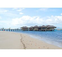 dos palmas resort cottages in palawan Photographic Print