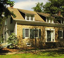 Stone Home in the Country by Pamela Phelps
